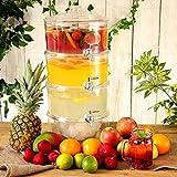 drinkstuff Distributeur de boissons 3 étages 10,5 L