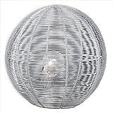 LED 5 Watt Tischleuchte Drahtkugel Leuchte Lampe Wohnzimmer Chrom Schalter Beleuchtung