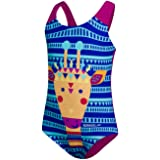 Speedo Girl's Junglegina Digital Applique Swimsuit Sweatsuit