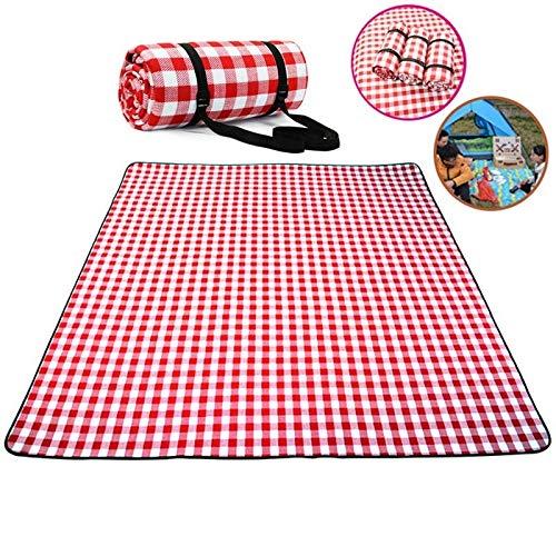 ZHAOLV Verdicken Sie Pad atmungsaktive weiche Decke for Outdoor Falten wasserdichte Decke Camping Beach Plaid Picknick-Matte (Size : 150 200CM) - Fokus Weichen Bürste