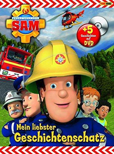 Feuerwehrmann Sam (Buch mit DVD): Mein liebster Geschichtenschatz - 3-jahres-dvd