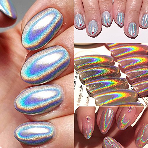 Joligel Superfino Pigmento Láser Polvo Brillo Holográfico