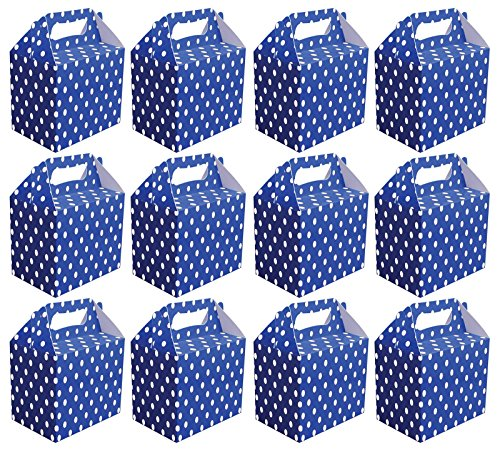 value-pack-12-x-royal-blue-polka-dot-paper-lunch-box-going-home-present-picnic-boxes