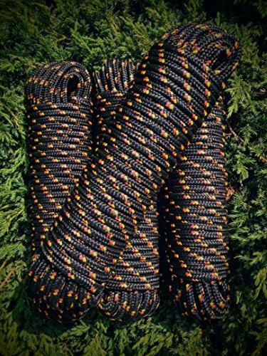 Kordel,Schot,Festmachleine Weiß PP Seile 4-16 mm,30m,Strick,Schnur,Reep,Band