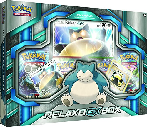 Preisvergleich Produktbild Pokemon 25922 - PKM Relaxo-GX Kollektion DE