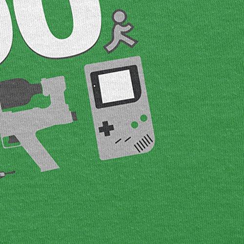 Texlab–I survived The 90s–sacchetto di stoffa Verde