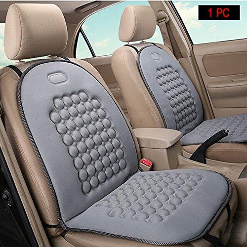 HomDSim Autositzauflage mit Massage-Funktion, universelle Sitzauflage, gepolstert