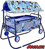 Best Cradles - Avani MetroBuzz Baby Cradle Cot Cum Stroller (Blue) Review