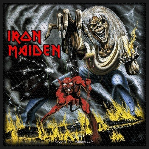 Iron Maiden parche Number of the Beast