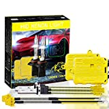 Kit Hid Xenon High Performance Luminous Scheinwerfer 110W 9-36V 11000lm H7 6000K Bi-Xenon Fahrzeug Xenon Leuchtmittel