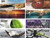 TMdesign Küchenrückwand 500 Motive Spritzschutz Acrylglas (120x50cm)