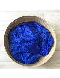 Bleu royal - Wrap en dentelle séance photo bébé ou maternité 80 x 50 cm,150 x 100 cm