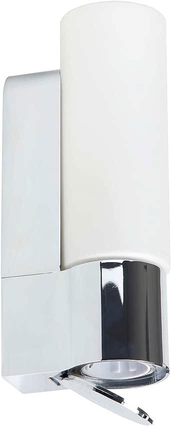 Applique pour salle de bain avec prise int gr e protection - Applique salle de bain avec prise ...