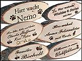 Vinmut-Design Türschild inklusive persönlicher Wunschgravur und Vorlagenservice von der Manufaktur VINMUT