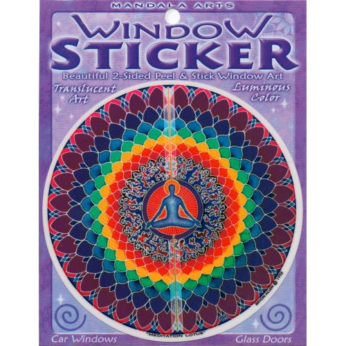 45-double-sided-colorful-meditation-lotus-window-sticker-by-bryon-allen