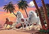 Puzzle 1500 Teile - White Horses