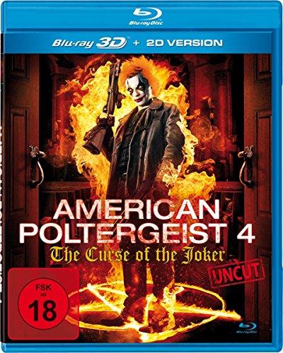 Bild von American Poltergeist 4 - The Curse of the Joker Real - Uncut (inkl. 2D-Version) [3D Blu-ray]