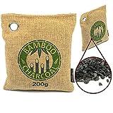 El Limpiador y Deshumidificador de Aire Ecológico de Carboncllo de Bambú Activo de MountainGoods | Elimina malos olores, alérgenos y agentes contaminantes | Libre de Toxinas, Químicos y Fragancias Artificiales | 100% biodegradable y ecológico | Deshumidificador para Coches| Reutilizable | absorbe malos olores | ideal para purificar el aire | Una ayuda contra olores molestos y moho