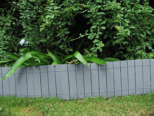 Bordura recinto da giardino 2 50 m in legno composito for Bordura giardino prezzo