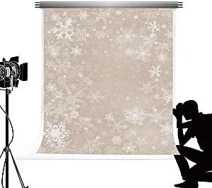 Kate Backdrop Fotohintergrund Weihnachten Weiß Tanzen Elektronik