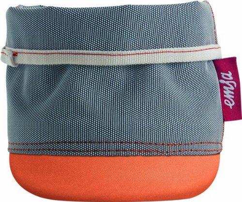 Emsa 512751 Softbag Cache-Pot/Porte-Ustensiles ou Corbeille 15 cm Mandarine