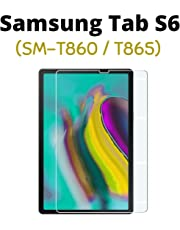 """M.G.R.J® Tempered Glass Screen Protector for Samsung Galaxy Tab S6 SM-T860 / T865 (10.5"""" inch) (Rel. 2019, August)"""
