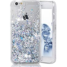 Custodia iPhone 5S Cover iPhone SE a Libro Bling Glitter SainCat