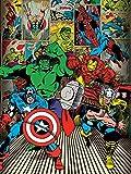 60 x 80 cm Marvel Comics 'qui sono degli eroi Tela stampa
