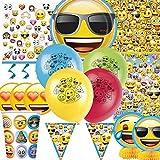 Emoticons Ultimo Accessori Per Feste Kit per 8