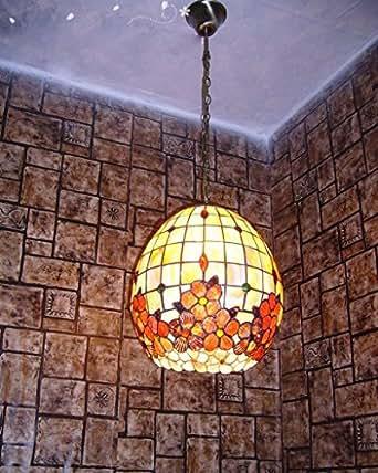 12-Inch Rich Fiori Oval Shell Naturale Lampada Lampadario Chandelier Gastronomia Ristorante Foyer Chandelier