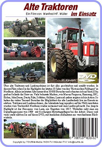 Alte Traktoren im Einsatz