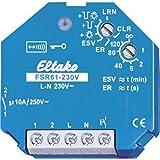 Eltako Radioactor stroomstoot- schakelrelais 230 V. 1 sluiter FSR61-230 V