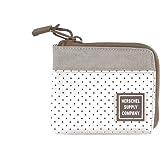 Herschel 10402-01830: Unisex Johnny Silver Birch/Khaki Crosshatch Wallet