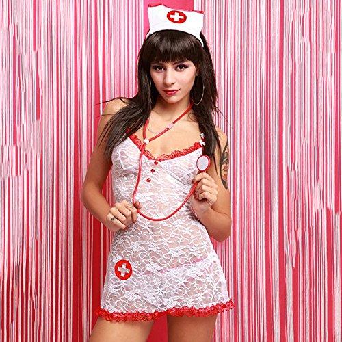 Myhope Rollenspiel Krankenschwester Outfit Freche Uniform Fantasy Kleidung