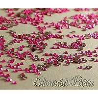 Strass Hotfix 2Cut SS10 Hot Fashion Pink 500 - 50.000 Cantidad a elegir, 1.000