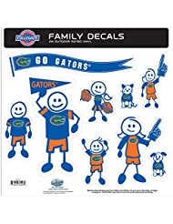 NCAA Florida Gators Family Character Decals, Large