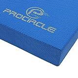 PROCIRCLE Balance-Pad - X-Large 49cm x 39cm x 6cm - Koordinationsmatte & Gleichgewichtsmatte - Wobble Kissen für Physikalische Therapie
