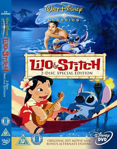 Lilo and Stitch  Special Edition   DVD   2002