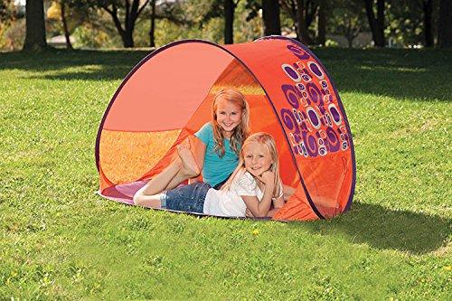B. Toys bx1406gtz–B. de Pop Up Tent, Preescolar de Parte Mundos, Multicolor