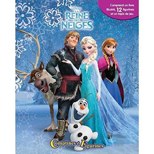 Comptines et figurines Reine des neiges by Disney