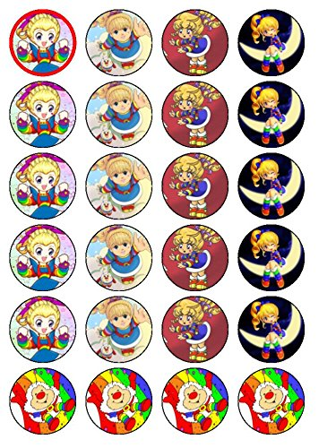 24-rainbow-brite-cupcake-cake-toppers