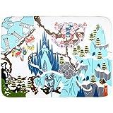 Teppino Spielteppich Kinderteppich Supersoft Meine Eiswelt (130x180cm)