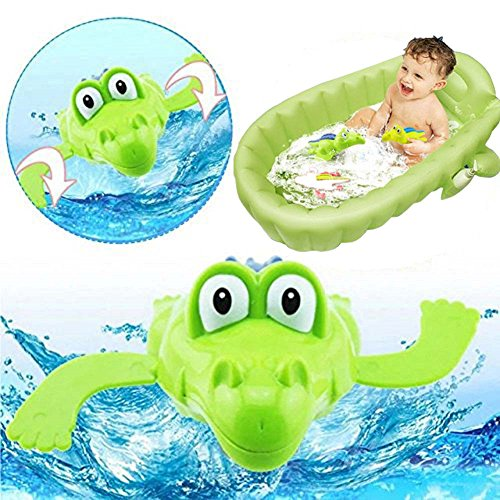 Coupon Matrix - Bluelans Lovely Cartoon Animal Swimming Crocodile Wind Up Clockwork Baby Pool Bath CM© toys for Kids Boys Girls Xmas Gifts Xmas Stocking Fillers Party Bag Gifts