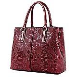 Sac Femme femmes Sacs à main en cuir et sacs à main Mesdames Gros Sacs pour femme bandoulière épaule Sac à main sacs a main Femme Tote Red