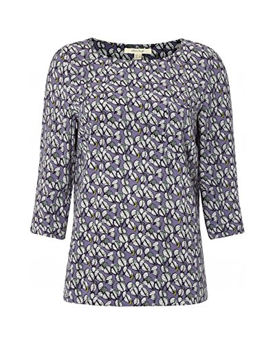 White Stuff Damen T-Shirt - Ebony Blue