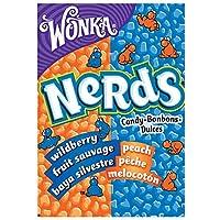 Wonka Nerds Peach & Wild Berry Fruit Sauvages, 46.7g