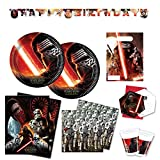 Star Wars Force Awakens Episode 7 Partygeschirr Party Set teilig Teller Becher Servietten Kindergeburtstag Deko