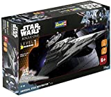 Star Wars Rogue One - Imperial Star Destroyer Revell Build and Play Modellbausatz weiß