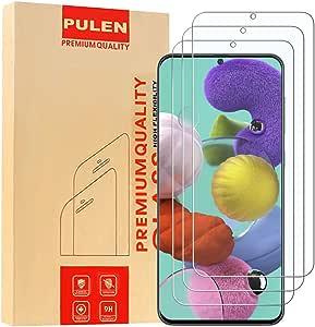 3 Pack Pulen Tempered Glass Screen Protector For Samsung Galaxy A51 9h Glass Screen Protector Anti Scratch Bubble Free Fingerprint Free Hd Clear Film Elektronik