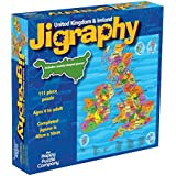 Jigraphy: United Kingdom & Ireland - Amazing UK Map Jigsaw Puzzle by The Happy Puzzle Company - 100 Pieces